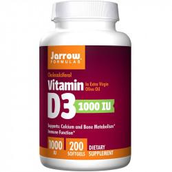 JARROW FORMULAS Vitamin D3 1000 IU 100caps
