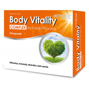 ACTIVLAB Body Vitality Complex 30caps