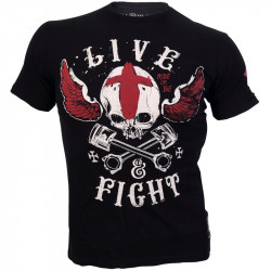 OLIMP Live And Fight T-Shirt Voodoo Motors Koszulka