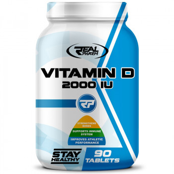Real Pharm Vitamin D 2000 IU 90tabs