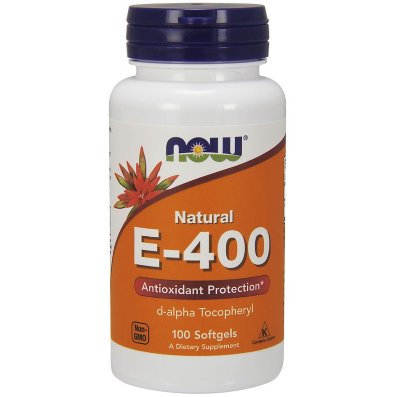 NOW Natural E-400 100caps