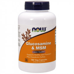 NOW Glucosamine&MSM 180vegcaps