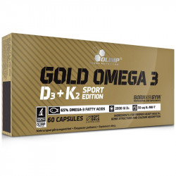 OLIMP Gold Omega D3+K2 Sport Edition 60caps