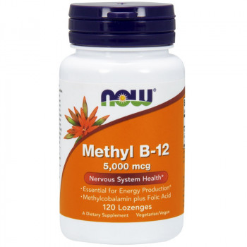 NOW Methyl B-12 5,000mcg 120tabs