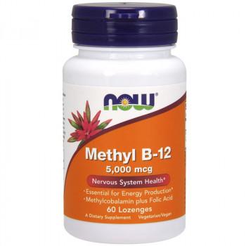 NOW Methyl B-12 5,000mcg 60tabs
