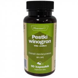 PHARMOVIT Pestki Winogron 90caps