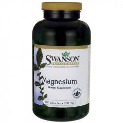 SWANSON Magnesium 200mg 250caps