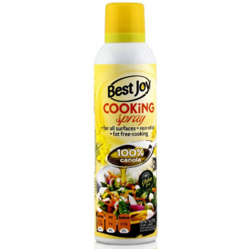BEST JOY Cooking Spray 100% Canola 201g Olej Rzepakowy W Areozolu Do Smażenia