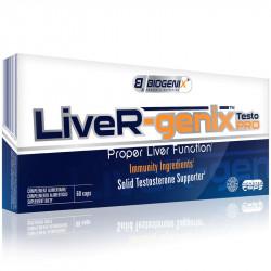 BIOGENIX Liver-Genix Testo Pro 60caps