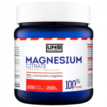 UNS Magnesium Citrate 200g