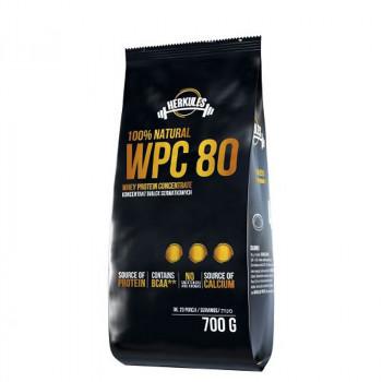 MLEKOVITA Herkules 100% Natural WPC 80 700g