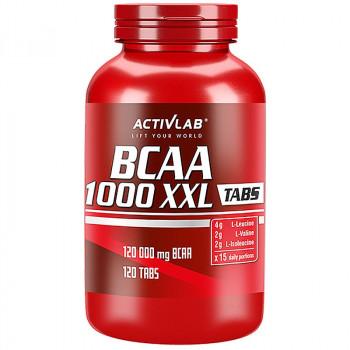 ACTIVLAB BCAA 1000 XXL Tabs 120tabs