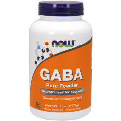 NOW Gaba Pure Powder 170g