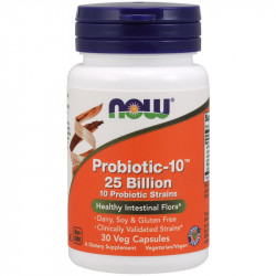 NOW Probiotic-10 25 Billion...
