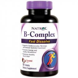NATROL B-Complex Fast Dissolve 90tabs
