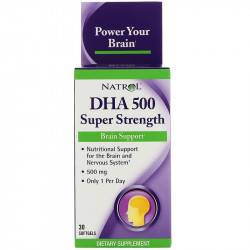 NATROL DHA 500 Super Strength 30caps