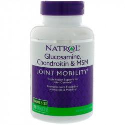 NATROL Glucosamine Chondroitin&MSM 150tabs
