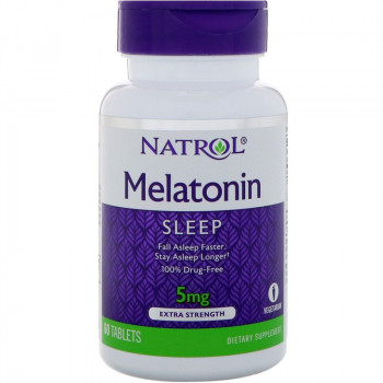 NATROL Melatonin 5mg 60tabs