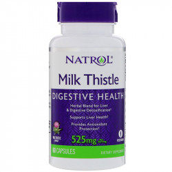 NATROL Milk Thistle 525mg 60caps