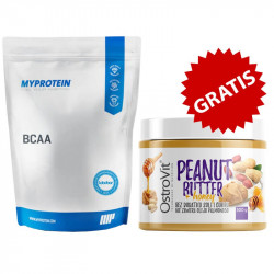 MYPROTEIN BCAA 1000g + OSTROVIT Peanut Butter + Honey 500g KREM ORZECHOWY Z MIODEM GRATIS!!!