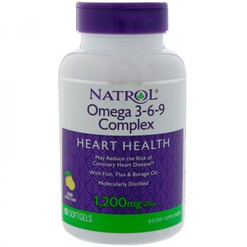 NATROL Omega 3-6-9 Complex 1,200mg 90caps