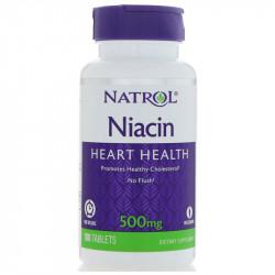 NATROL Niacin 500mg 100tabs