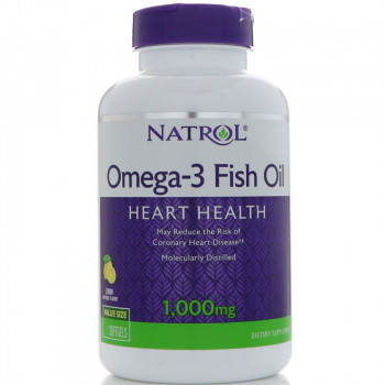 NATROL Omega-3 Fish Oil 1,000mg 90caps