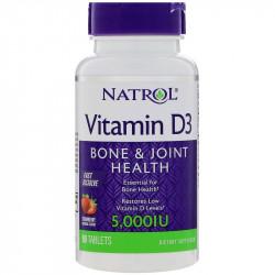 NATROL Vitamin D3 5,000 IU 90tabs