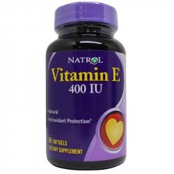 NATROL Vitamin E 400 IU 30caps