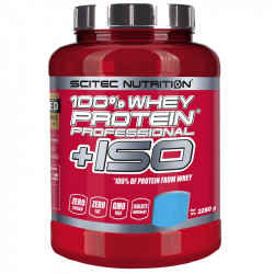 SCITEC 100% Whey Protein Professional + ISO 870g