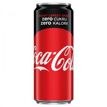 Coca-Cola Zero Cukru Zero Kalorii 330ml