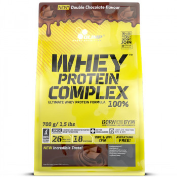 OLIMP Whey Protein Complex 100% Double Chocolate 700g