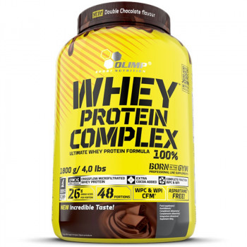OLIMP Whey Protein Complex 100% Double Chocolate 1800g