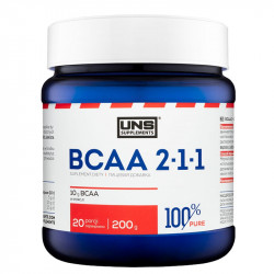 UNS BCAA 2-1-1 200g