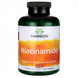 SWANSON Niacinamide 500mg...