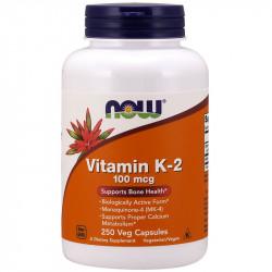 NOW Vitamin K-2 100mcg 250vegcaps