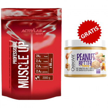 ACTIVLAB Muscle Up Professional 2000g  + OSTROVIT Peanut Butter + Honey 500g KREM ORZECHOWY Z MIODEM GRATIS!!!