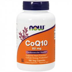 NOW CoQ10 60mg 60vegcaps