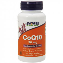 NOW CoQ10 60mg 60vegcaps