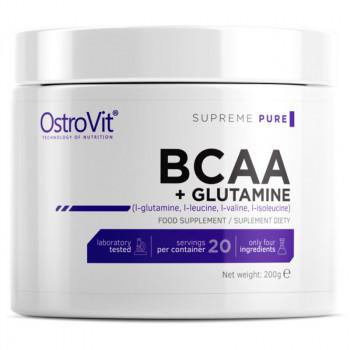 OSTROVIT Supreme Pure BCAA + Glutamine 200g