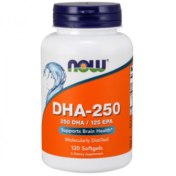 NOW DHA-250 250 DHA/125 EPA 120caps