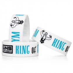 UNS Wristband 202mmx25mm OPASKA SILIKONOWA