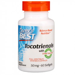 DOCTOR'S BEST Tocotrienols 60caps