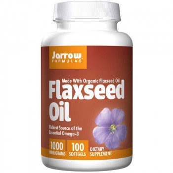 JARROW FORMULAS Flaxseed Oil 100caps
