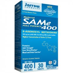JARROW FORMULAS Natural SAMe Full Potency 400 30tabs