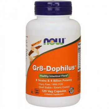 NOW Gr8-Dophilus 120vegcaps