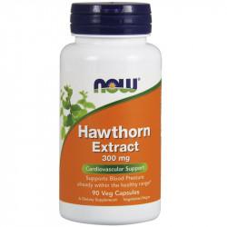 NOW Hawthorn Extract 300mg 90vegcaps