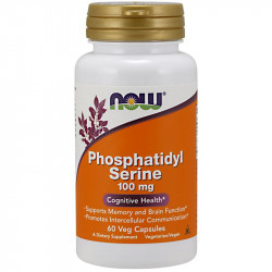 NOW Phosphatidyl Serine 100mg 60vegcaps