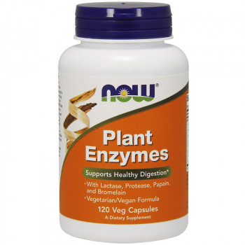 NOW Plant Enzymes 120vegcaps