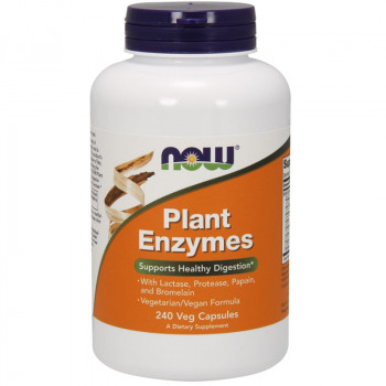 NOW Plant Enzymes 240vegcaps